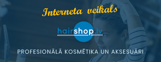 E-shop - hairshop.lv
